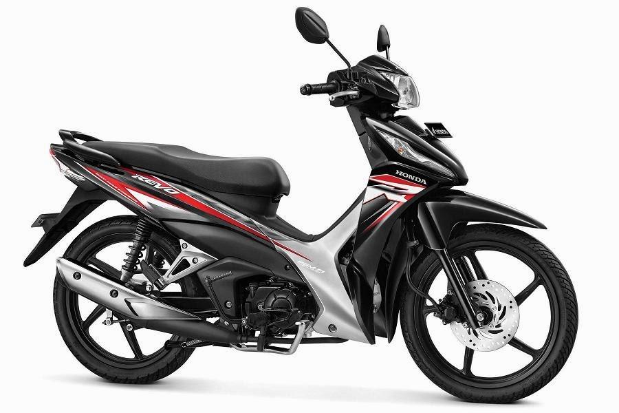 Warna Honda Revo CW PGM-FI hitam