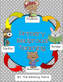 http://www.teacherspayteachers.com/Product/Reciprocal-Teaching-for-Primary-Grades-370544