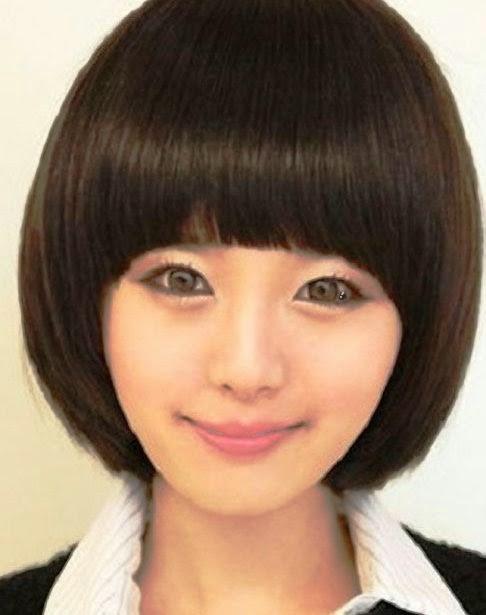 model rambut bob pendek lurus model rambut bob sebahu