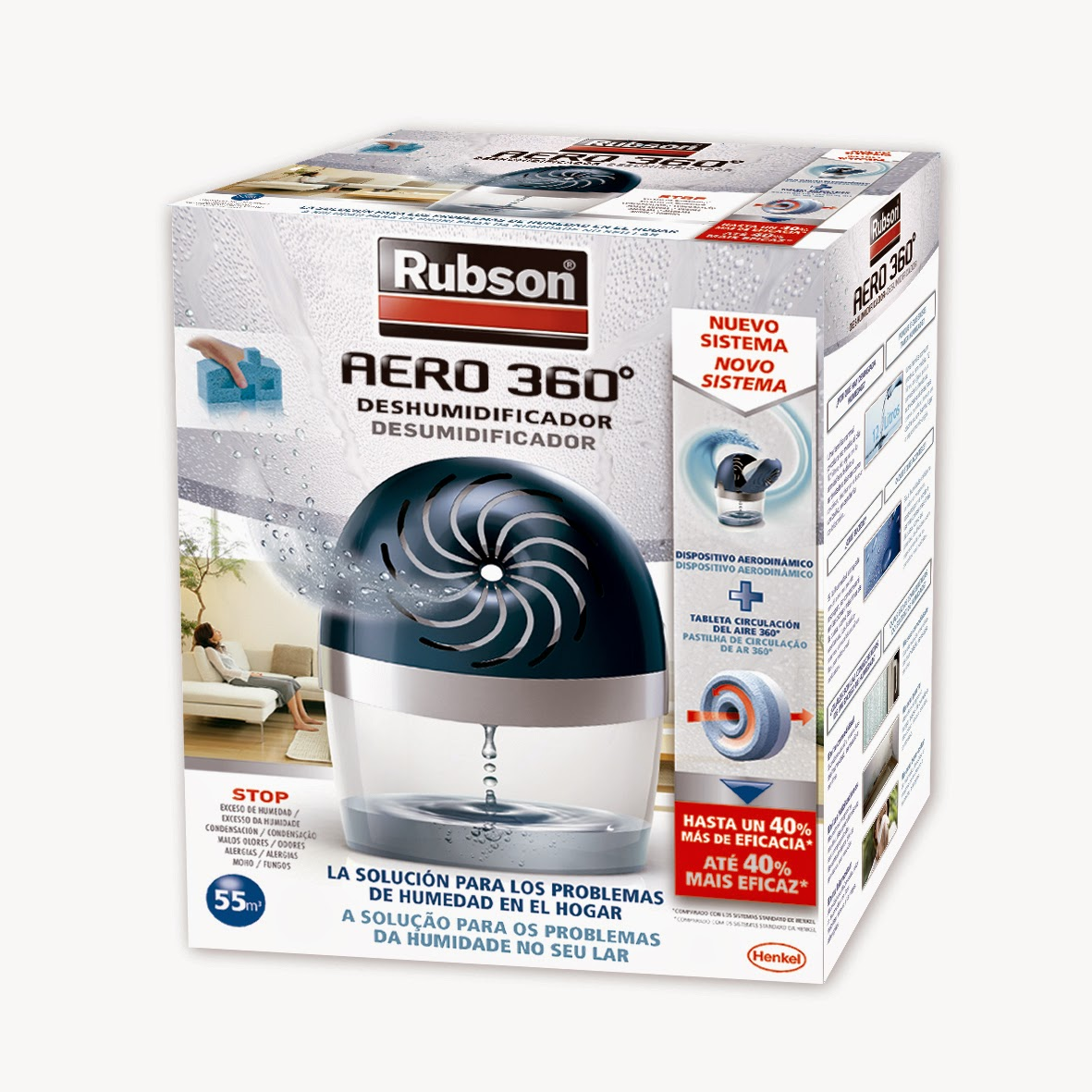 El blog de aceber acaba con la humedad y malos olores con los deshumidificadores rubson - Humedad ideal en casa ...