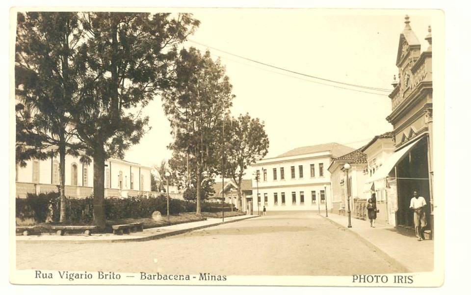 Rua Vigário Brito em Barbacena MG