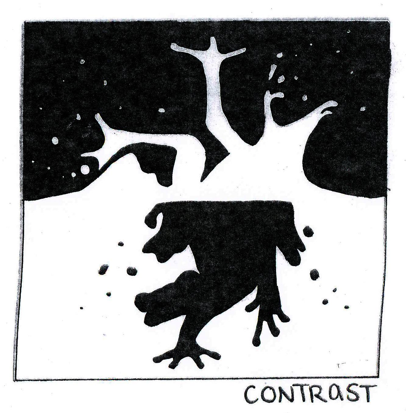 Contrast In Principles Of Design : Visual communication resource design principle contrast
