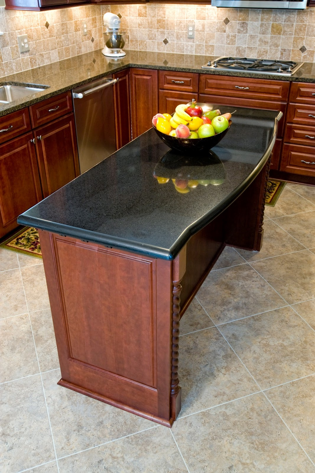1000 images about kitchen island table on pinterest - Narrow kitchen island table ...
