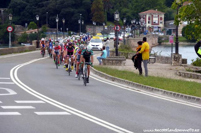 Vuelta a Cantabria'15 por S. Vicente de la Barquera