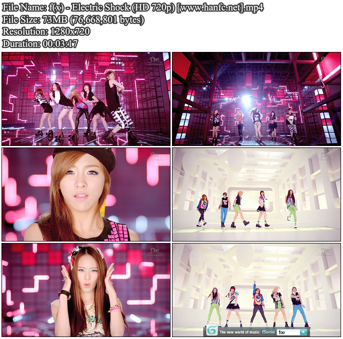 [MV] F(x)   Electric Shock (HD 720p)