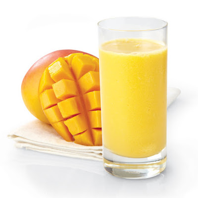 Weight loss with mango smoothie