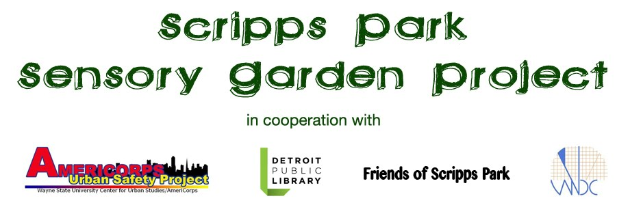 Scripps Park Sensory Garden Project