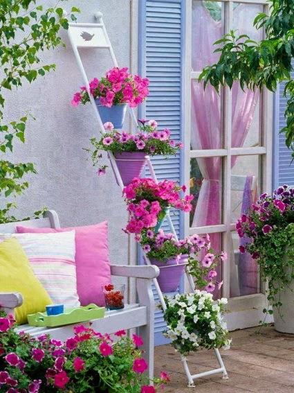 ideias jardins pequenos : ideias jardins pequenos:Bricolage e Decoração: Ideias para Decorar Pequenos Jardins
