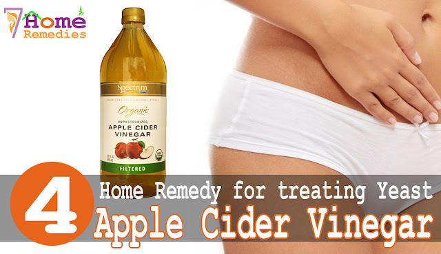 Vinegar is effective to treat infection