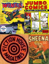 Fiction House Comics: History and issues [Complete series]