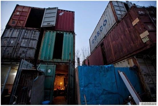 GAMBAR : Rumah KONTENA Untuk Rakyat Miskin Di China ... Gambar ...