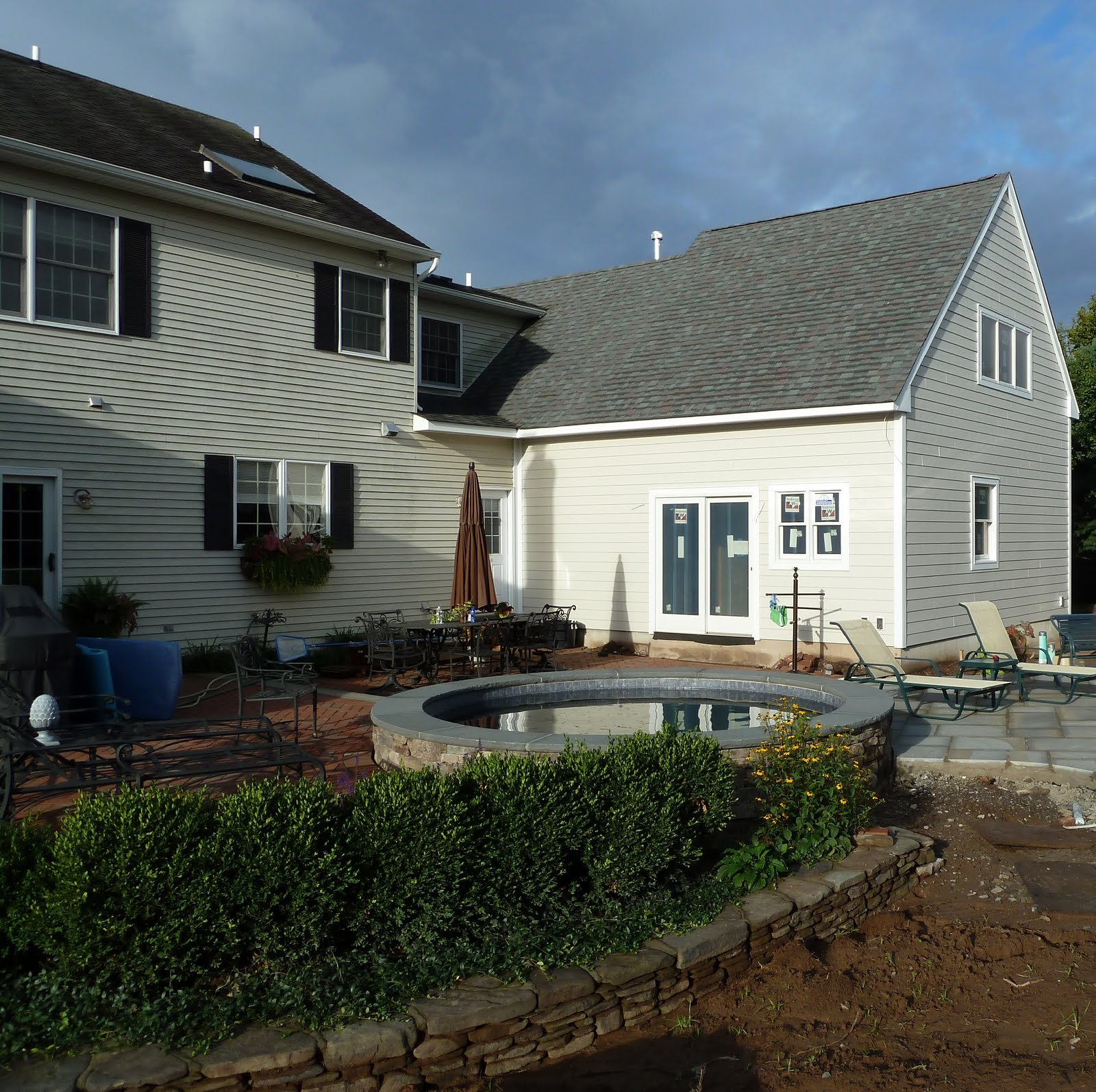 A e construction 39 s blog bucks county pa pool house for Pool house additions