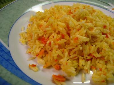 arroz de cenoura bimby
