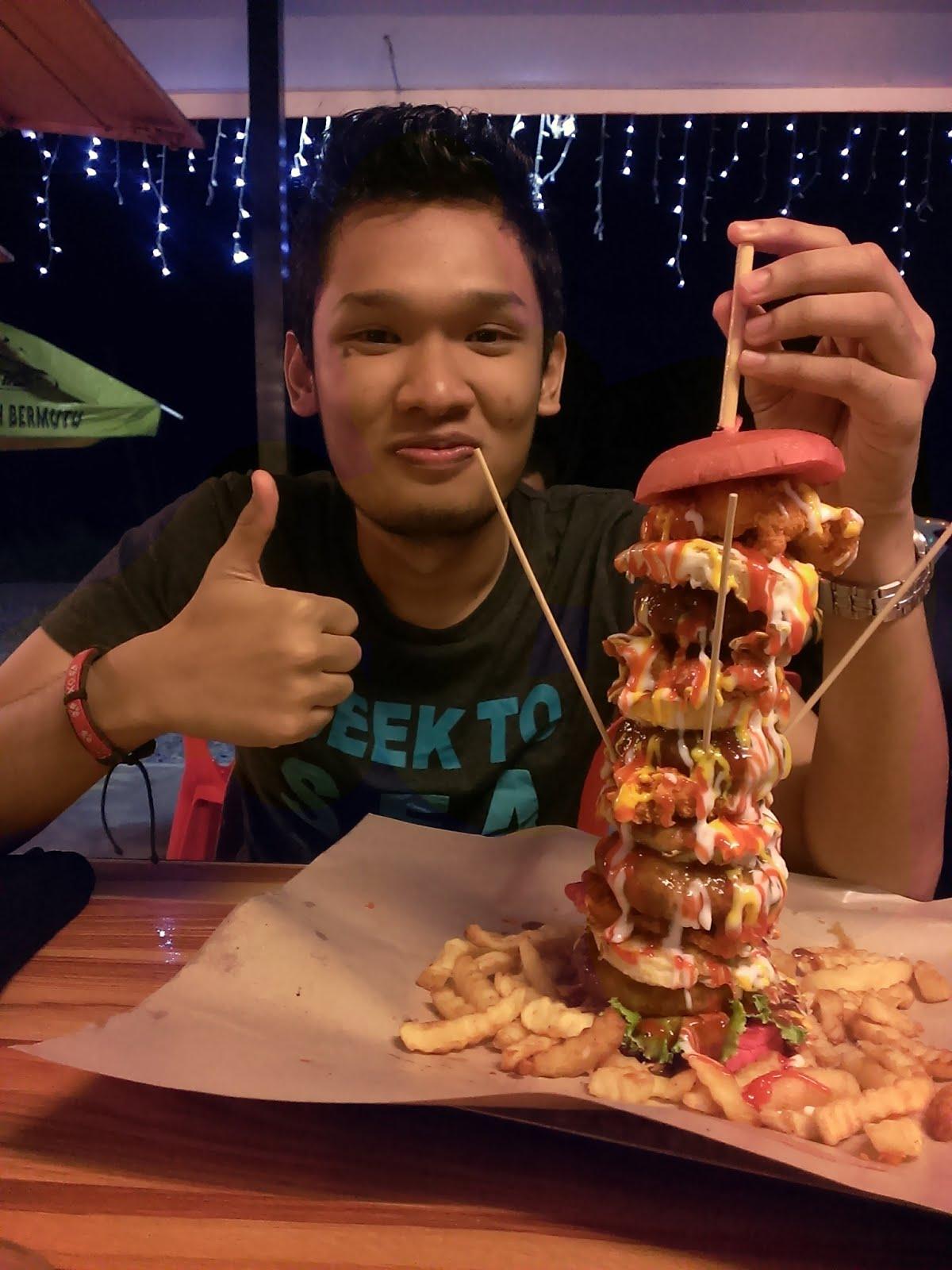 Ana Burger D'Cafe - Kangar Perlis