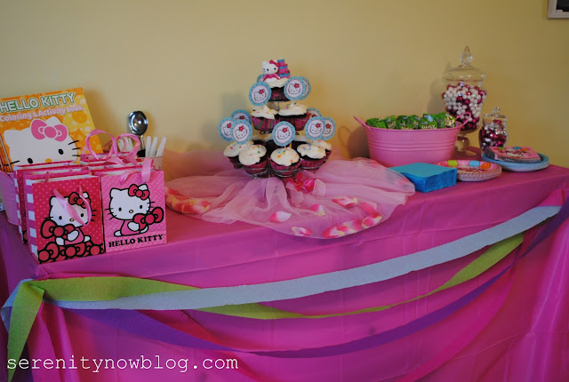 Hello Kitty Birthday Party on a Budget, from Serenity Now