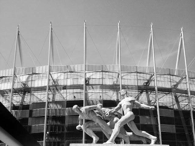 Sztafeta na Stadionie Narodowym