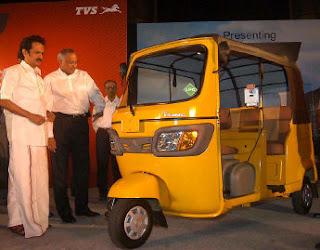 New Auto Rickshaw from TVS-2