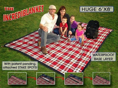 Incrediblanket stakes a claim as 'World's Best Outdoor Blanket'