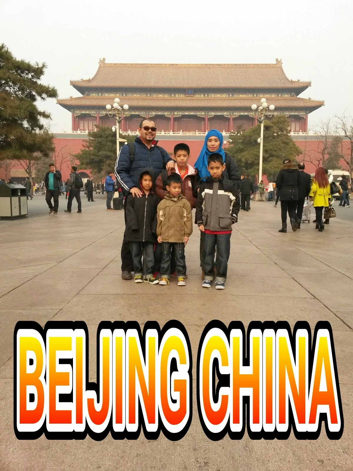 MELANCONG KE BEIJING CHINA