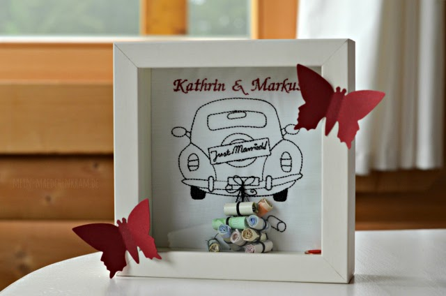 ... auch nach der Hochzeit ohne Geld-Einlage noch eine schöne Erinnerung