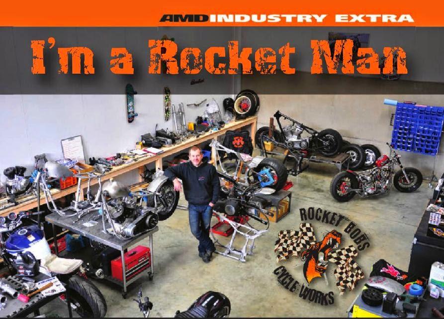 Rocket Bobs Cycle Works: Rocket Man