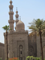 Islamic Architecture of Cairo: Dome and Minarets of Mosque-Madrasa of Sultan Hasan