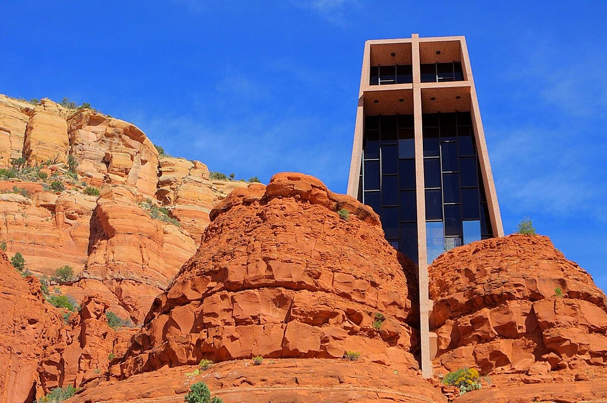 Chapel Of The Holy Cross, Sedona, Arizona Images