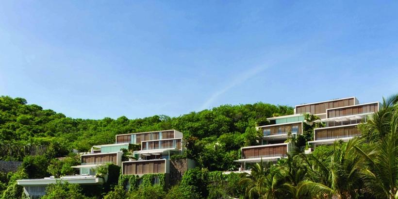 Two modern villas
