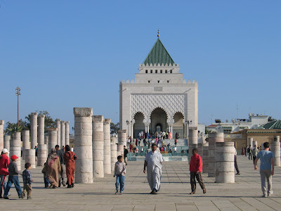 The mausoleum of Mohammed V, Rabat, Morocco