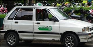Empresas de táxi pirata no Vietnã