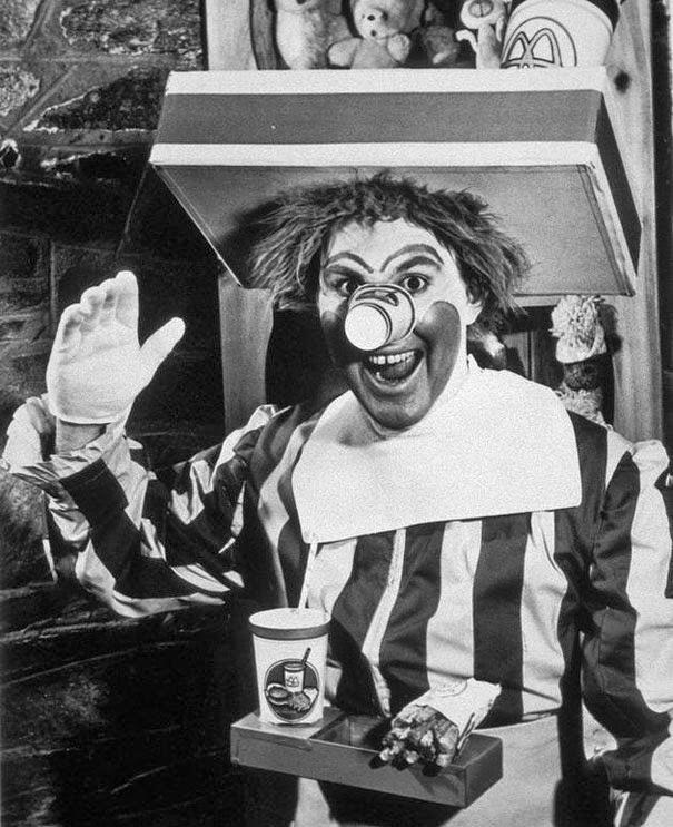 Ronald McDonald, 1963