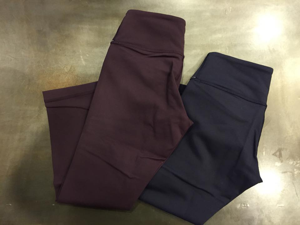 lululemon black-cherry-wunder-under-crop