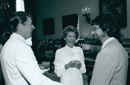 Reagan and Spielberg