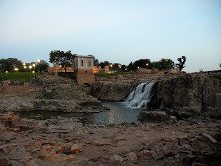 The Falls in downtown Sioux Falls, South Dakota