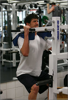 Michael Phelps Gym workout