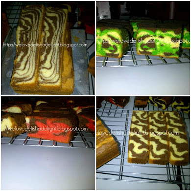 Assorted Marble / Buttery Cakes
