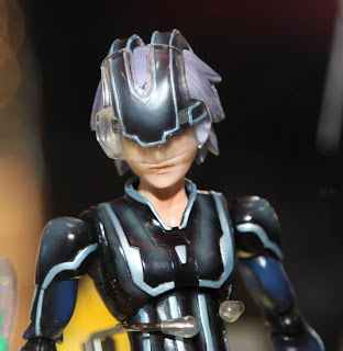 Square Enix Play Arts 2013 Toy Fair Display - Kingdom Hearts Riku Tron figure
