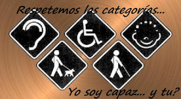 RESPETEMOS LAS CATEGORIAS
