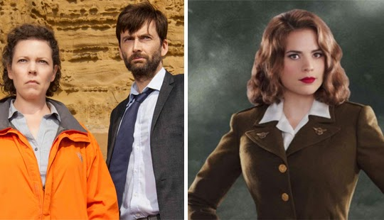 Premieres: BROADCHURCH and AGENT CARTER