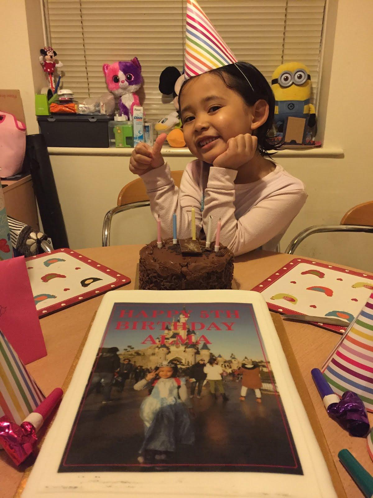 Alma Muzfirah - 5 tahun (2016)
