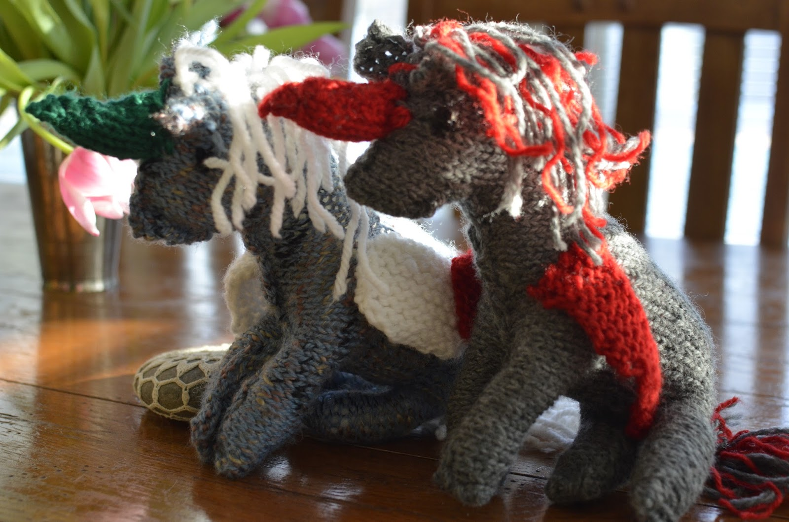 Unicorn Knitting Books : Charming the birds from trees sugar plum s knitting