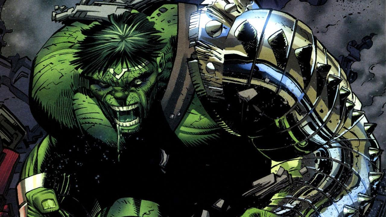 planet hulk artwork