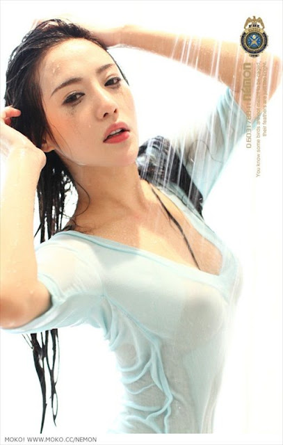 Liu Zi Xi, china hot model