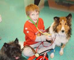 Pets Bring Kids With Autism Out Of >> My Aspergers Child The Benefits Of Therapy Pets For Kids On The