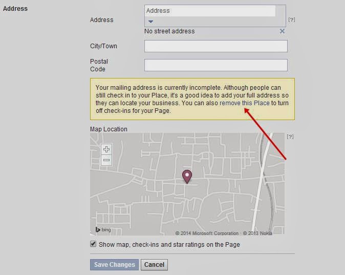 how to turn off my facebook business page