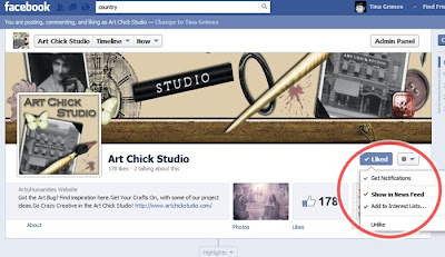 Art Chick Studio on Facebook