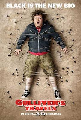 guliver'in gezileri sinema filminin posteri afişi