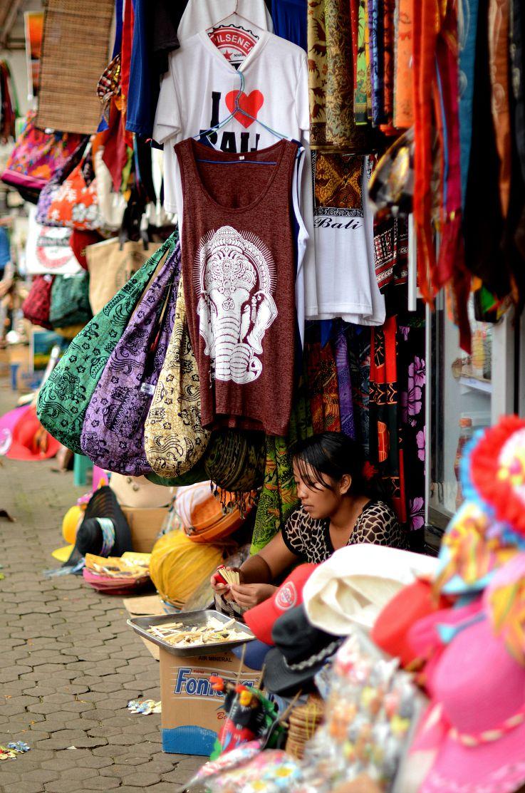 Bali Market, Indonesia