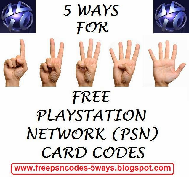 free+psn+card+code Free Psn Codes We Come With Throughout The Day Via The Web Freepsn Codes