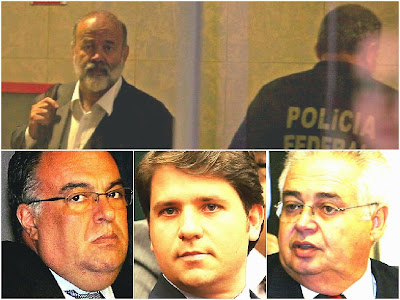 Vaccari e três ex-deputados presos na Lava Jato são  transferidos para cadeia comum - 25/05/2015